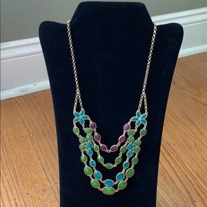 Jewelry - Purple green and blue stone necklace